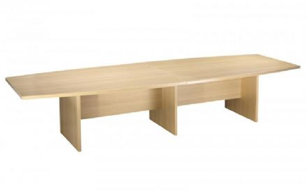 3600mm Light Oak Boardroom Table